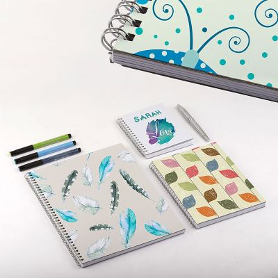 how to make your own spiral notebook