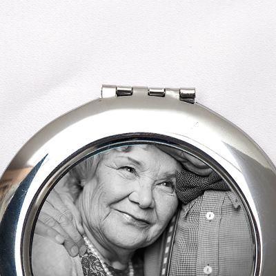 espejo de bolsillo para regalar en amigo invisible original