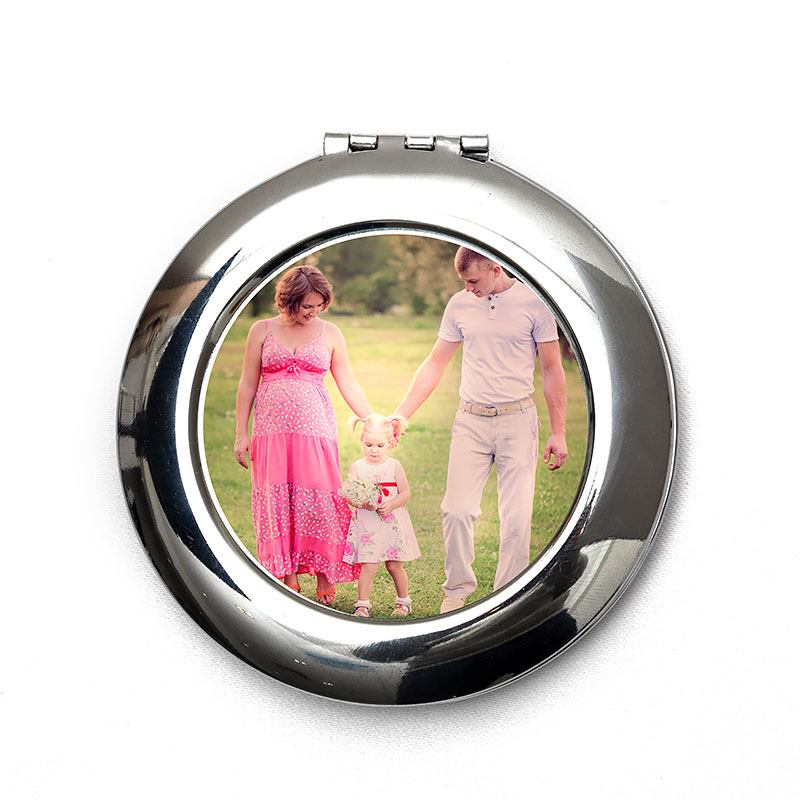 Personalized Compact Mirror With Your Photo Custom