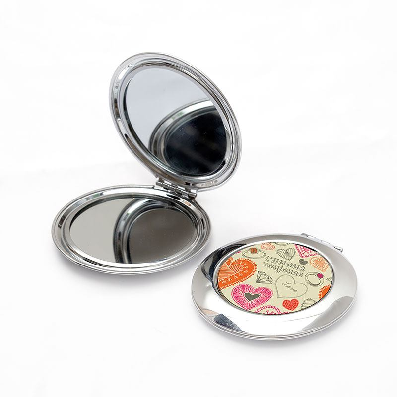 custom compact mirrors open and closed