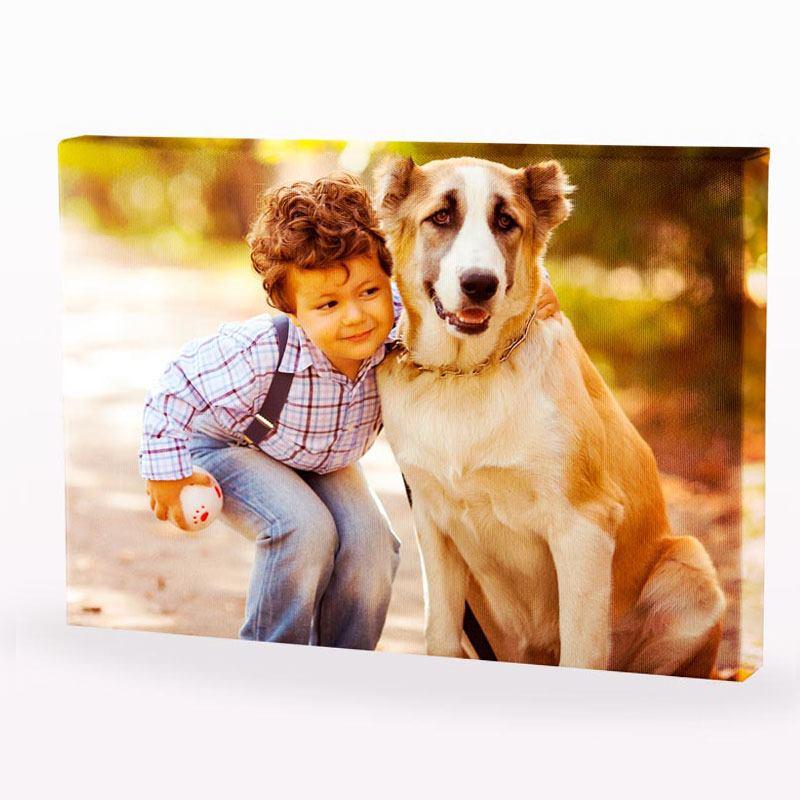 lienzos con fotos personalizadas