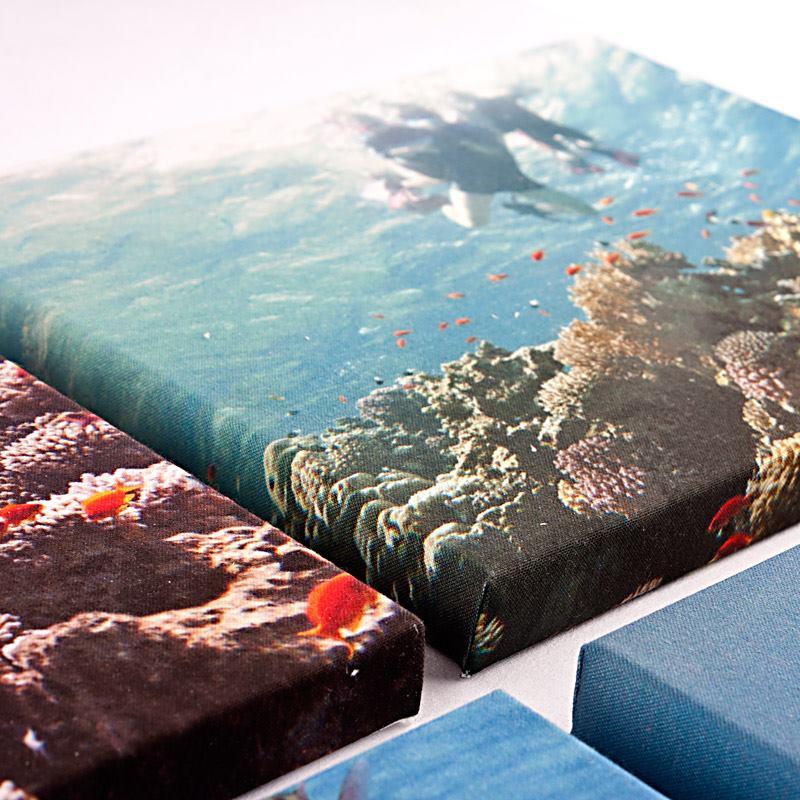 Canvas prints met je eigen afbeeldingen foto op canvas for Ontwerp je eigen kamer