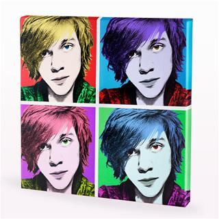 canvas warhol