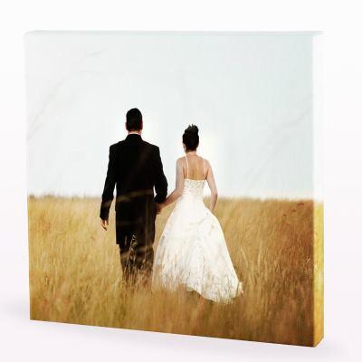 Fotocanvas bröllopspresent