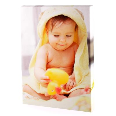 foto bebé en lienzo