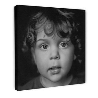 photography on black and white canvas art