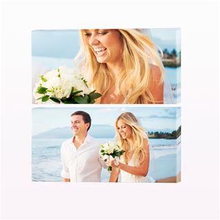 stampa su tela 2 pannelli matrimonio