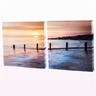 custom personalised diptych