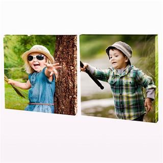 custom diptych with photos
