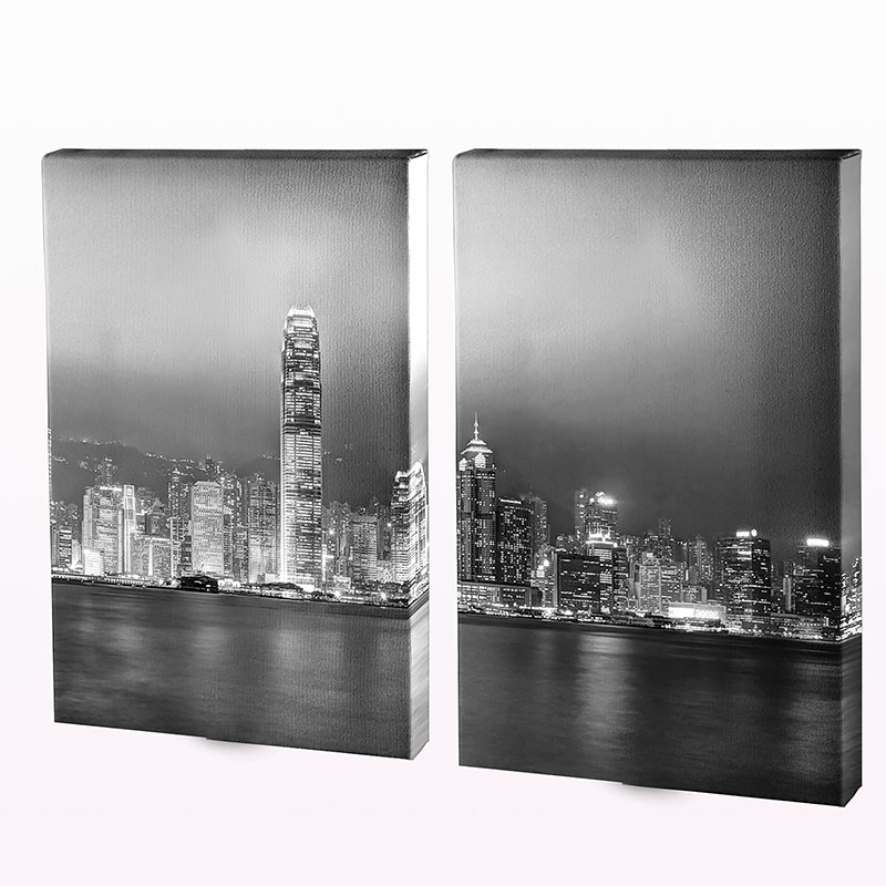 Two Panel Canvas Split
