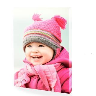 foto su tela bambino