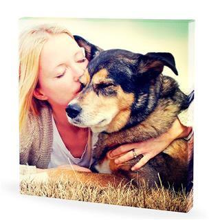 Tableau personnalisé avec photo de chien