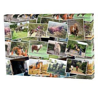 Leinwand wunschgr e fotos auf leinwand drucken - Fotoleinwand collage gestalten ...