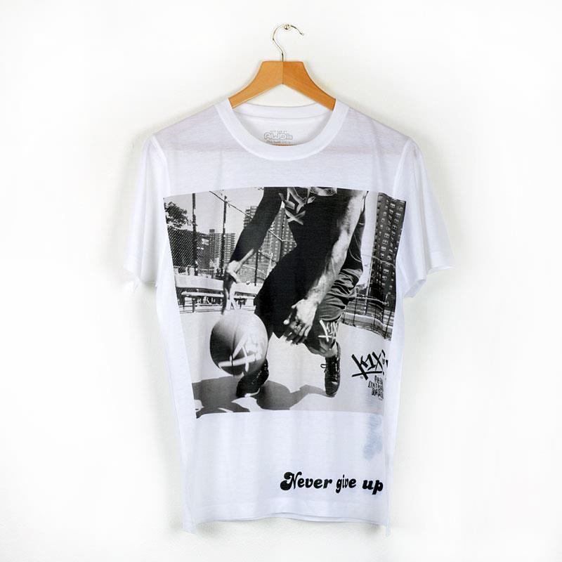 white tshirt personalised