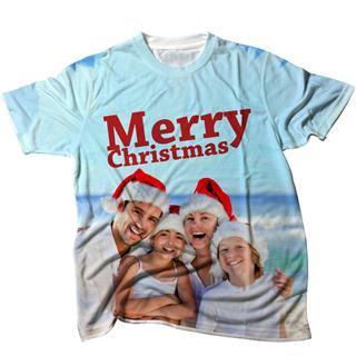 T-shirt imprimé pour Noël