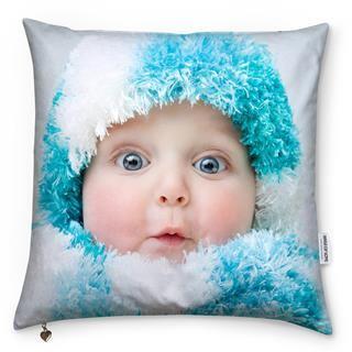 photo on cushions