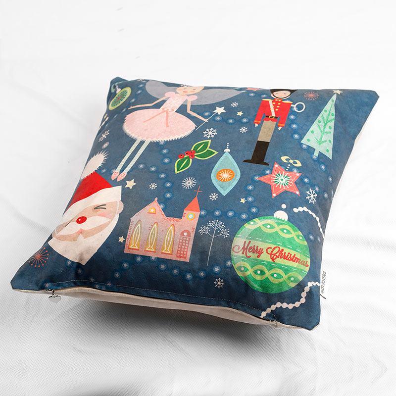 Coussin personnalisé avec design de Noël