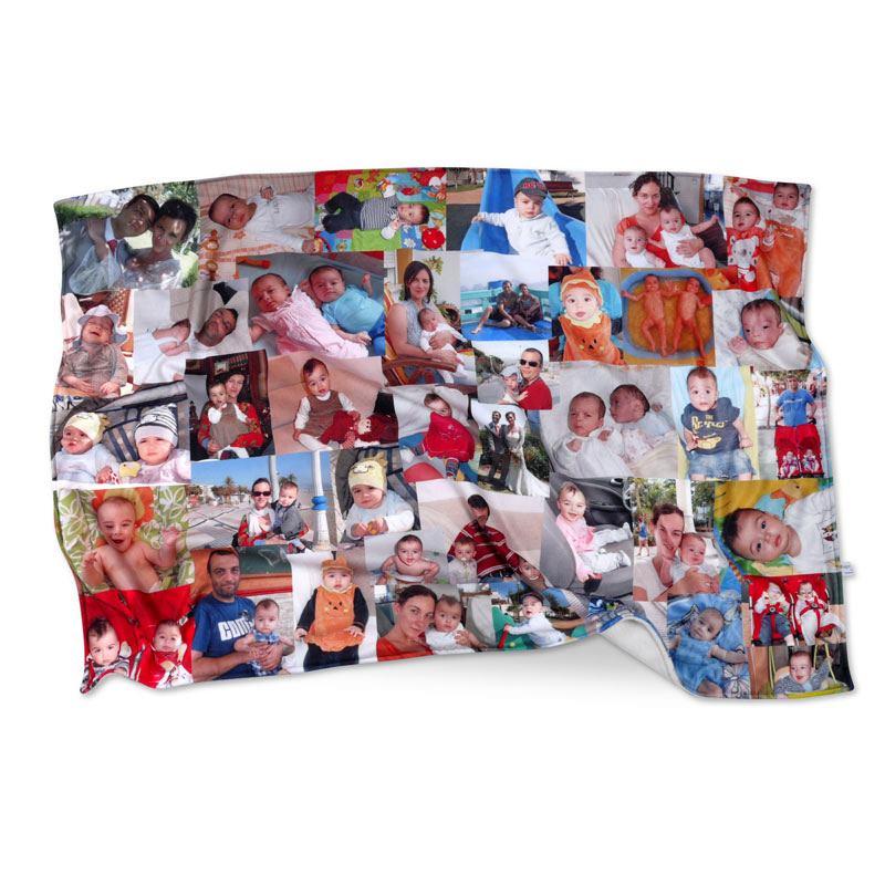 Manta polar personalizada con fotos garant a 10 a os - Mantas personalizadas con fotos ...