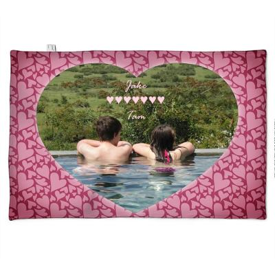Love You Photo Blanket