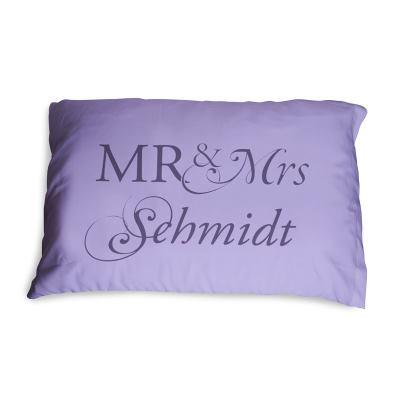 traversin mr mme personnalis pr noms sur traversin. Black Bedroom Furniture Sets. Home Design Ideas