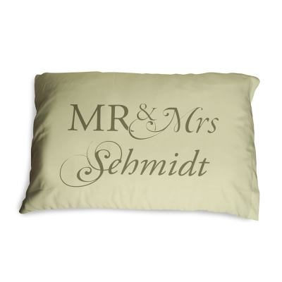 mr and mrs pillow covers cases