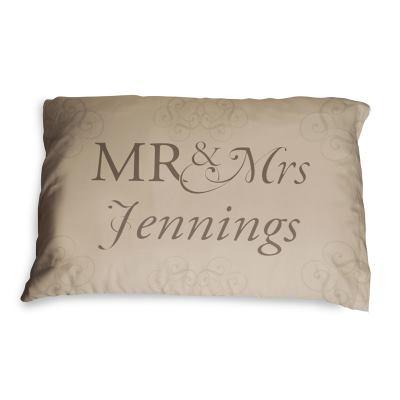 Mr & Mrs枕カバー
