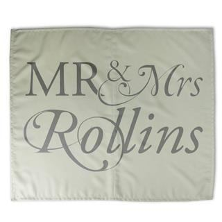 custom mr and mrs bed sheets