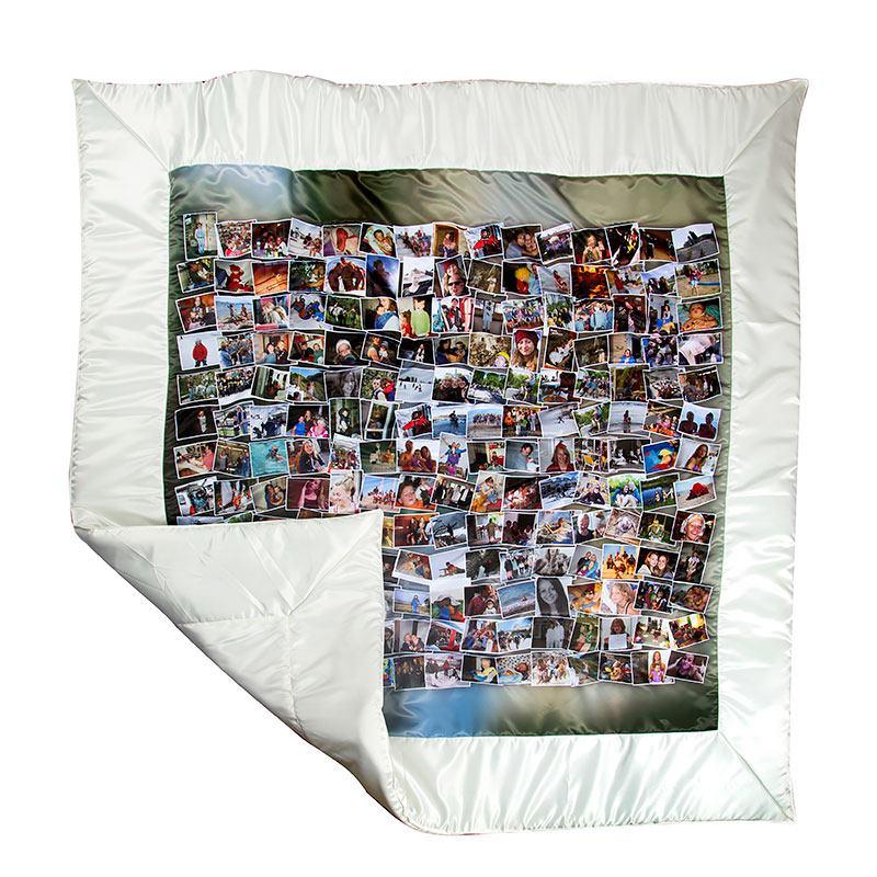 foto quilt patchworkdecke mit eigenen fotos gestalten