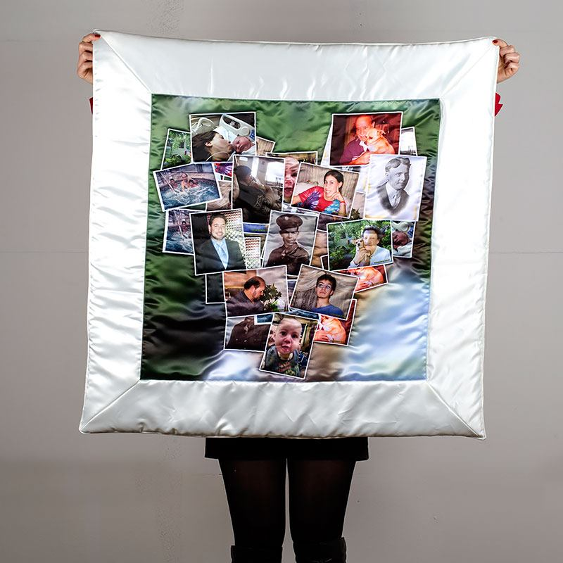 Custom Memory Quilt Photo Quilts With Collage