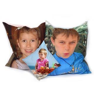 Sitzkissen selbst gestalten Kinderzimmer Kinderfoto