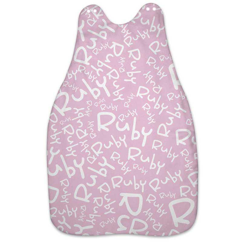 personalised baby name grow bag