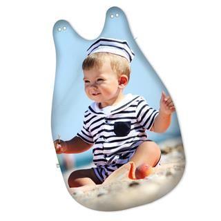 Sacco a pelo neonato personalizzato