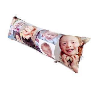 cuscino lungo personalizzato foto bambino