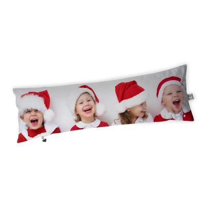 cojín alargado navideño