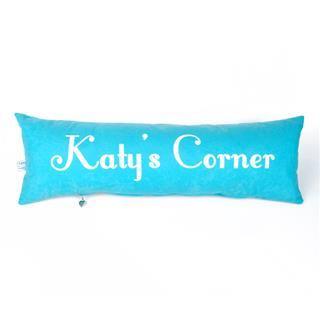 cuscino lungo personalizzato con stampa nome