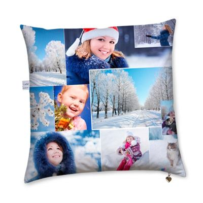 Personalised Christmas Cushion as personalised Christmas decorations