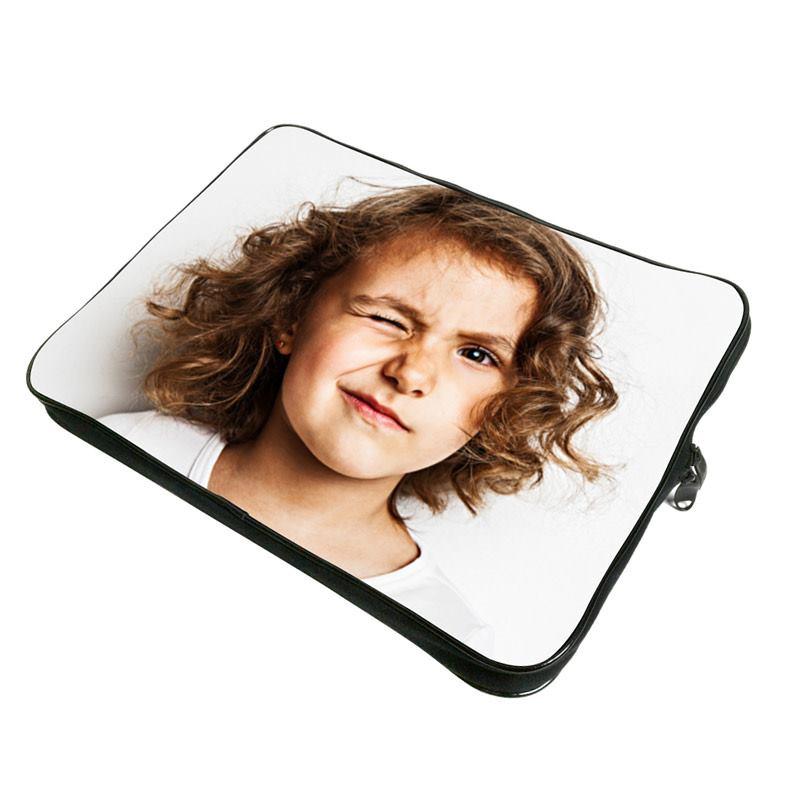 Housse ordinateur personnalisée avec photo enfant