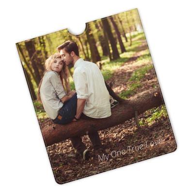 Läder iPad fodral bröllopspresent