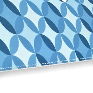 leather iPad bags geometric design