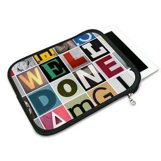 Housse iPad Air personnalisable avec message