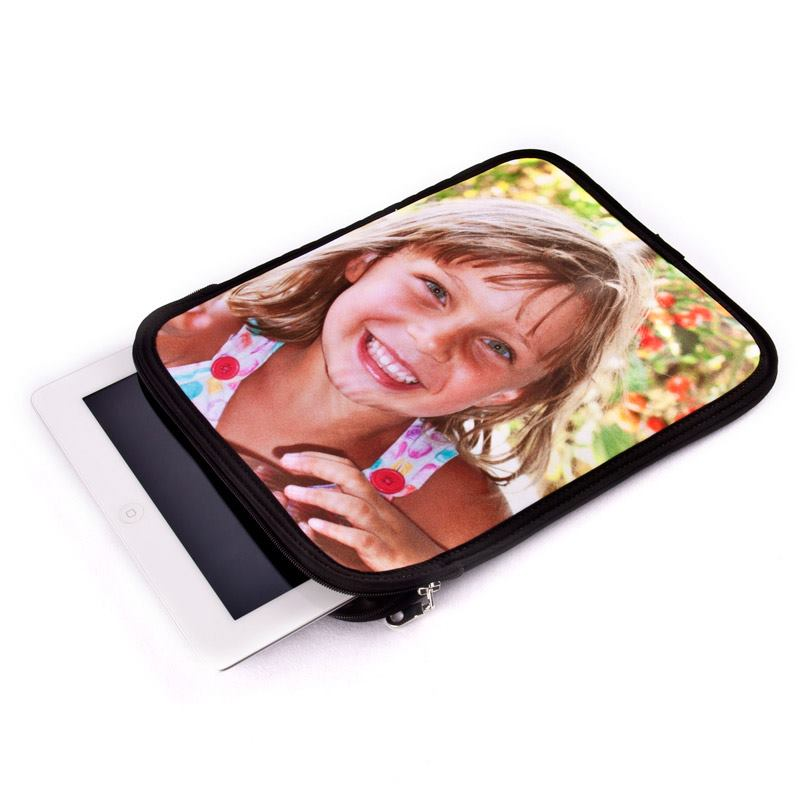 Housse ipad air personnalisable id e cadeau photo for Housse neoprene ipad air