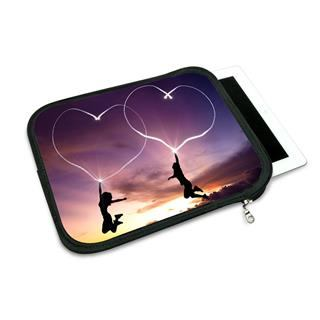 iPad Air case custom love hearts