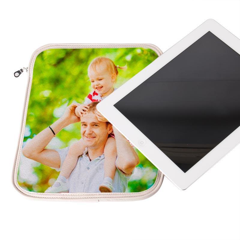 Housse Ipad Air personnalisée avec photo de père et fille