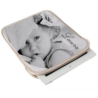 iPad Air case personalised in monochrome