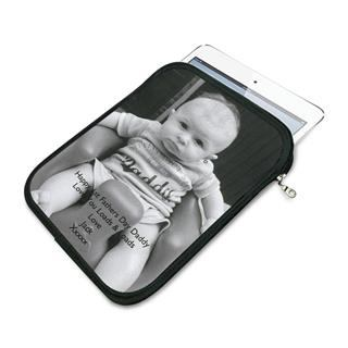 iPad mini case photo of baby