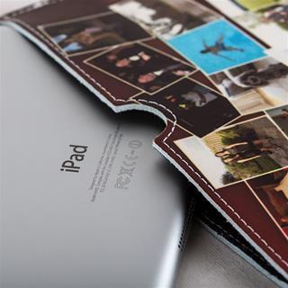 iPad Mini case UK leather details