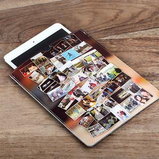 iPad Mini leather case photo collage