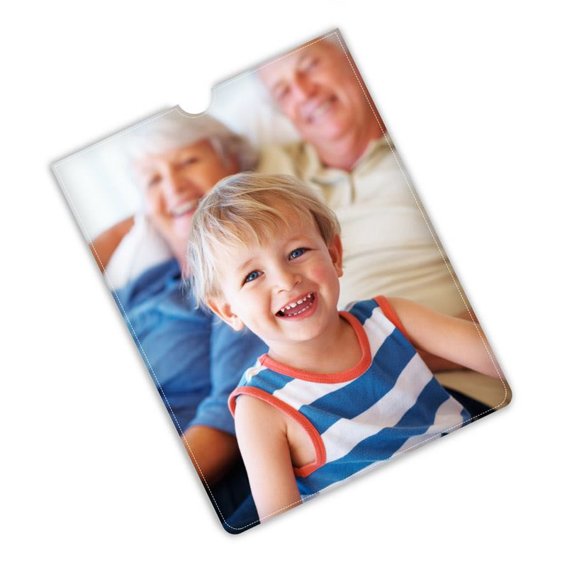 iPad Mini cover personalised with family photo