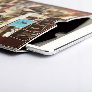 iPad Mini cover leather details