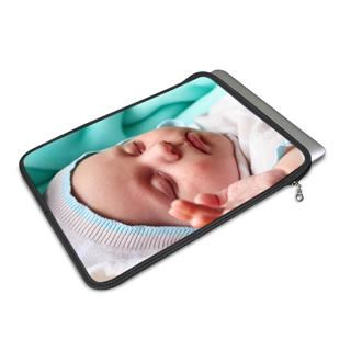 design your own macbook case printed with newborn baby photo